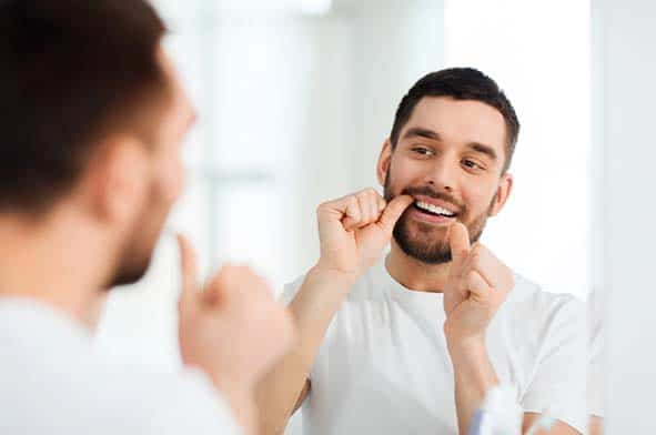 Flossing is vital for maintaining oral hygiene