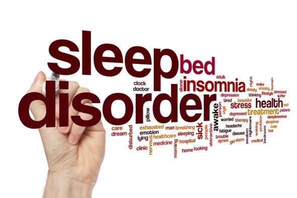 Sleep Apnoea and Sleep Disorders Tag Cloud